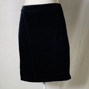 Lane Bryant women's skirt size 24 black corduroy